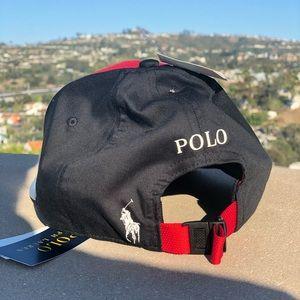 POLO Ralph Lauren P-Wing Color Blocked Cap - NWT